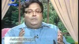 Ashwin Sanghi Interview on Doordarshan about his book Rozabal Line
