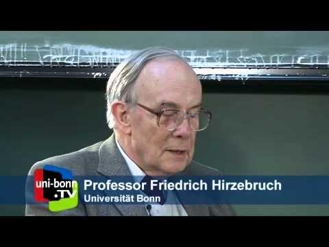 Friedrich Hirzebruch im Gespräch mit Carl-Friedrich Bödigheimer