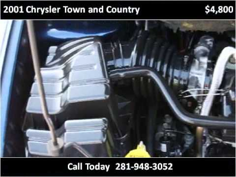2001 chrysler town and country available from omega motors for Town country motors