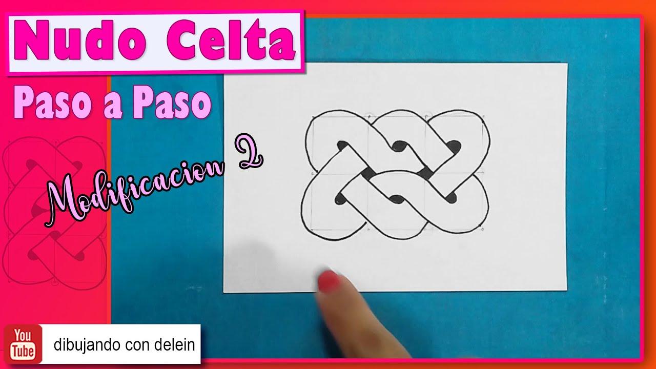 Como dibujar un nudo Celta ( Celtic Knot ), Diseño #3