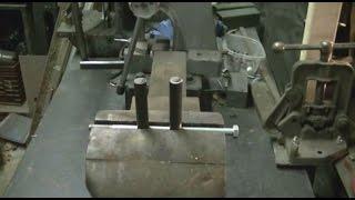 Adjustable Bending Fork & Jig For Blacksmiths