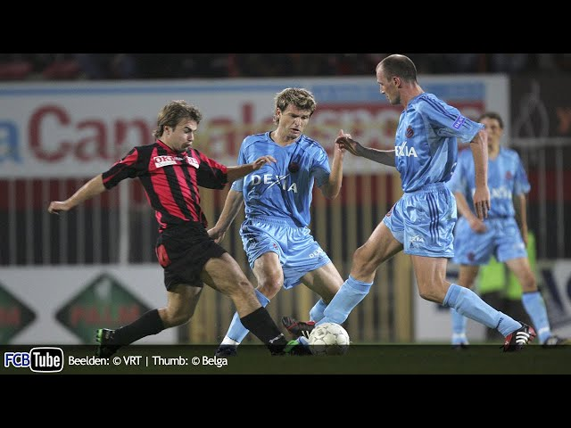 2005-2006 - Jupiler Pro League - 02. FC Brussels - Club Brugge 1-1