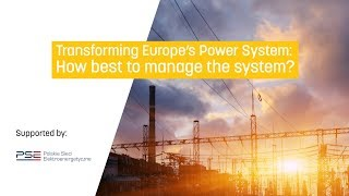 Transforming Europe's Power System: How best to manage the system?