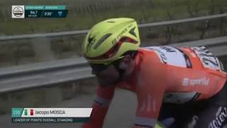 Tirreno-Adriatico 2018 - Stage 6 (Highlights with big colective crash) - Cycling Reviews #218