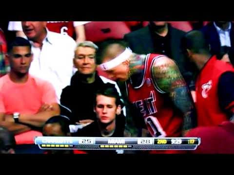Awkward Bromance Moments: Chris Andersen & Mike Miller