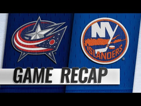 Greiss, Islanders shut out Blue Jackets in 2-0 win