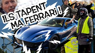 Attacked in my Ferrari by anti-car protesters!