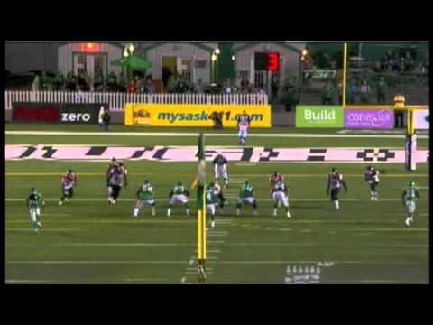 Darian Durant 15 yard touchdown pass to Hugh Charles - August 12, 2011