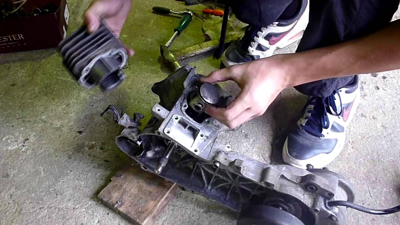 Ремонт скутера Honda dio af-27