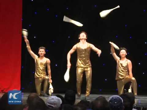 Chinese acrobats shine at Canadian National Exhibition