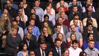 Lord Heseltine on BBCQT - Boris Johnson Proves Londons Diverse 21/02/2013