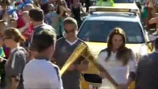 Melanie C carries the Olympic Torch (01/06/2012) - recorded by Spic...