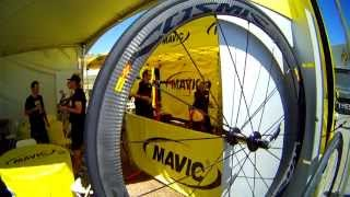 Mavic Cosmic Carbone 40C bicycle wheels @ 2013 Sea Otter Classic