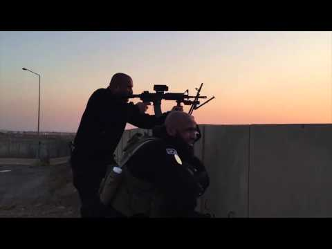 Iraqi Special forces fight ISIS at Balad Air Base