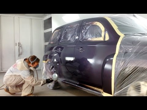 Chevrolet HHR Paint Repair – Blending Base/Clear