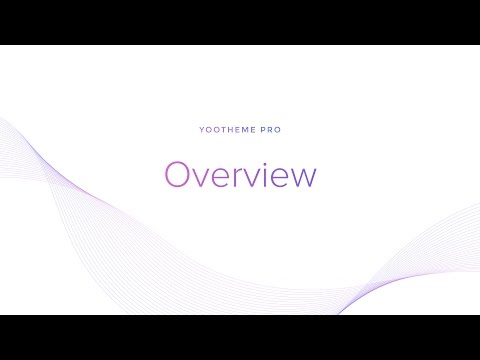 YOOtheme Pro #1: Overview