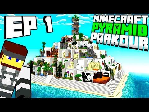 Minecraft: PARKOUR PYRAMID - EP.1 thumbnail