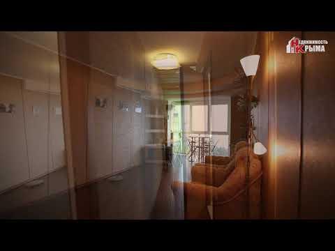 Продается видовая 2-х комнатная квартира в Алупке на ул. Сурикова, д. 22