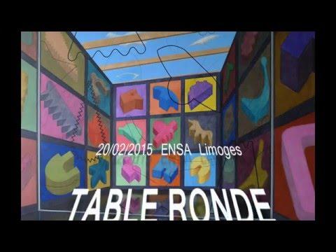 TABLE RONDE, conversation sur la PEINTURE