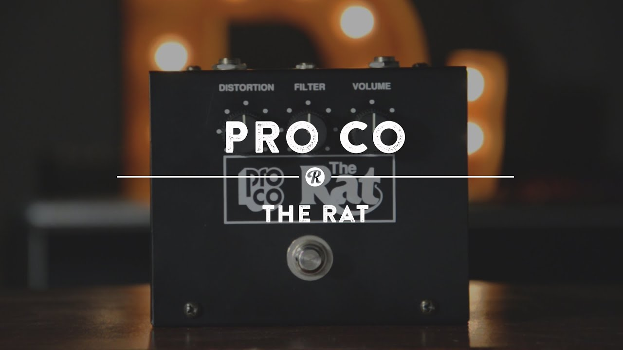 Proco The Rat Distortion Reverb Demo Video Youtube Schematic