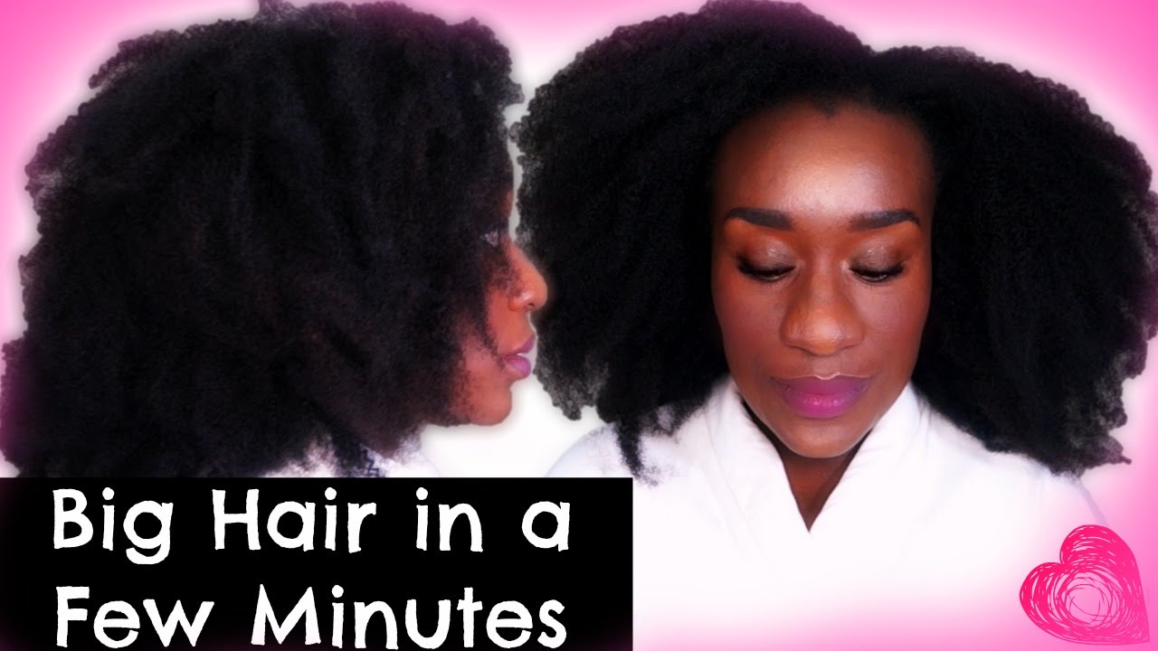 How I Install Natural Hair Clip In Extensions On 4c Hairquick