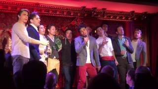 """The Broadway Prince Party @ 54 Below (10/17/2016) """"I Just Can't Wait To Be King"""""""