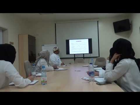 DR. MUSALLAM AL-ARAIMI,  RISK ASSESSMENT IN GENETIC COUNSELLING
