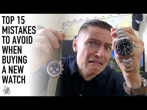 Before You Buy A Watch You Must See This!  - My 15 Biggest Mistakes To Avoid (WWT#79)