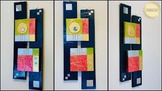 Unique wall decoration ideas| gadac diy| wall hanging craft ideas| do it yourself wall decor| diy