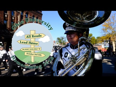 Ohio University 2016 Homecoming Parade