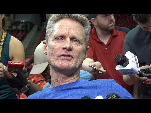 Warriors' Steve Kerr reacts to NFL's National Anthem policy