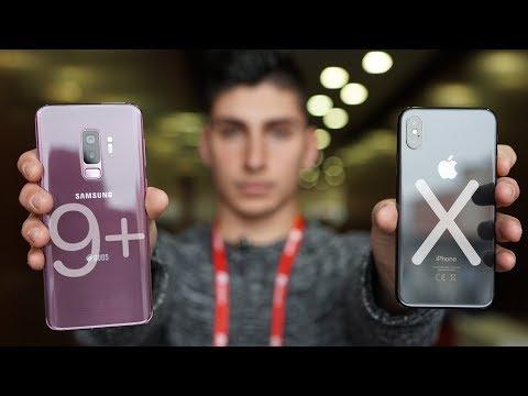 IPhone X Vs Samsung Galaxy S9 +   ¿Cuál Es Mejor? COMPARATIVA COMPLETA