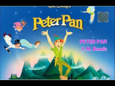 Peter Pan fairytale - Audiobook  Learning English | A beautiful Fairytale for kids