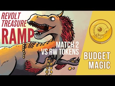 Budget Magic: Revolt Treasure Ramp vs RW Tokens (Match 2)