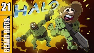 Halo: Combat Evolved | Two Betrayals | Ep. 21 | Super Beard Bros