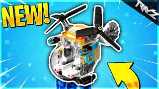 "THE NEW ""BUMBLE"" FLYING VEHICLE IN FORTNITE! NEW FLYING VEHICLE LEAKED! (FORTNITE BATTLE ROYALE)"