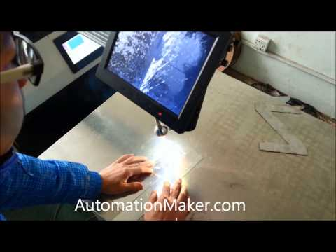 Laser welding Automation Maker metal: stainless steel, steel, Aluminum and so