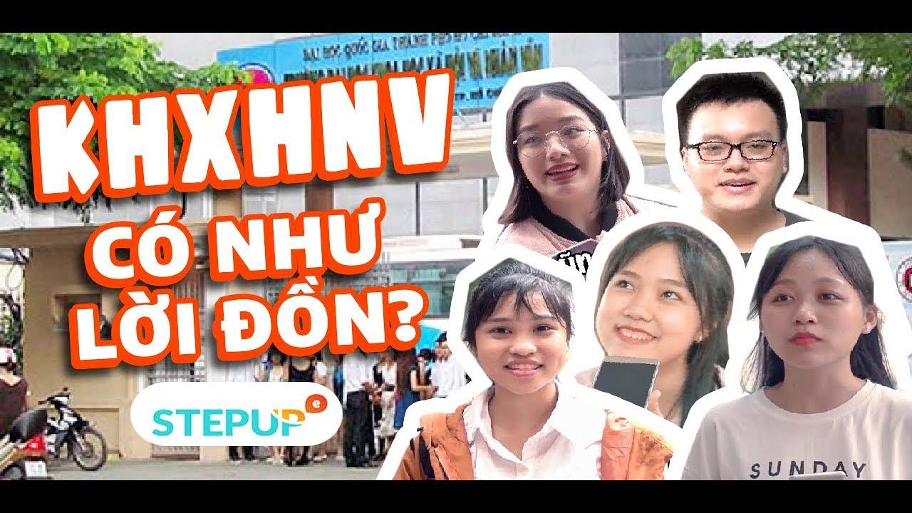 Khoa học Xã hội Nhân văn TP.HCM có như lời đồn?!? | Student Life | Step Up English