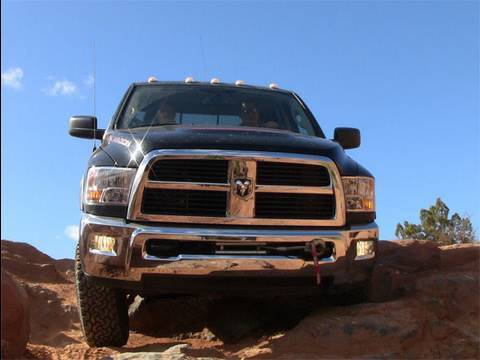 2010 Dodge  Power Wagon Off-road Review
