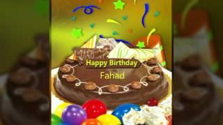 Happy Birthday Fahad