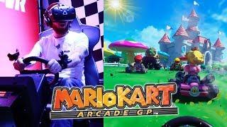 Mario Kart VR Gameplay - VR Zone Portal London O2