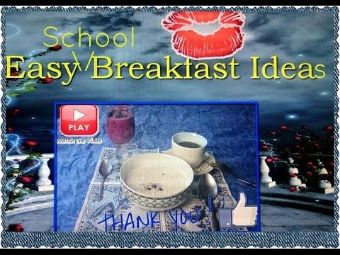 Школьный завтрак|Easy Breakfast Ideas For School| HelenLin1