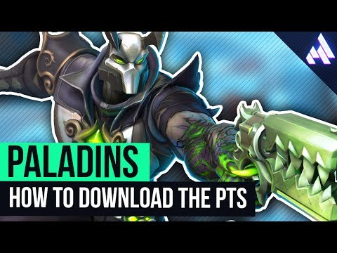 How to Download the Paladins PTS - Public Test Server! | Paladins