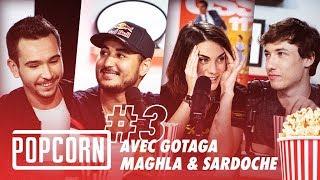 #03 - POPCORN spécial #ZEvent2019 avec Gotaga, Maghla & Sardoche