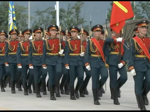 Foreign Troops Training for China's V-Day Military Parade in Beijing