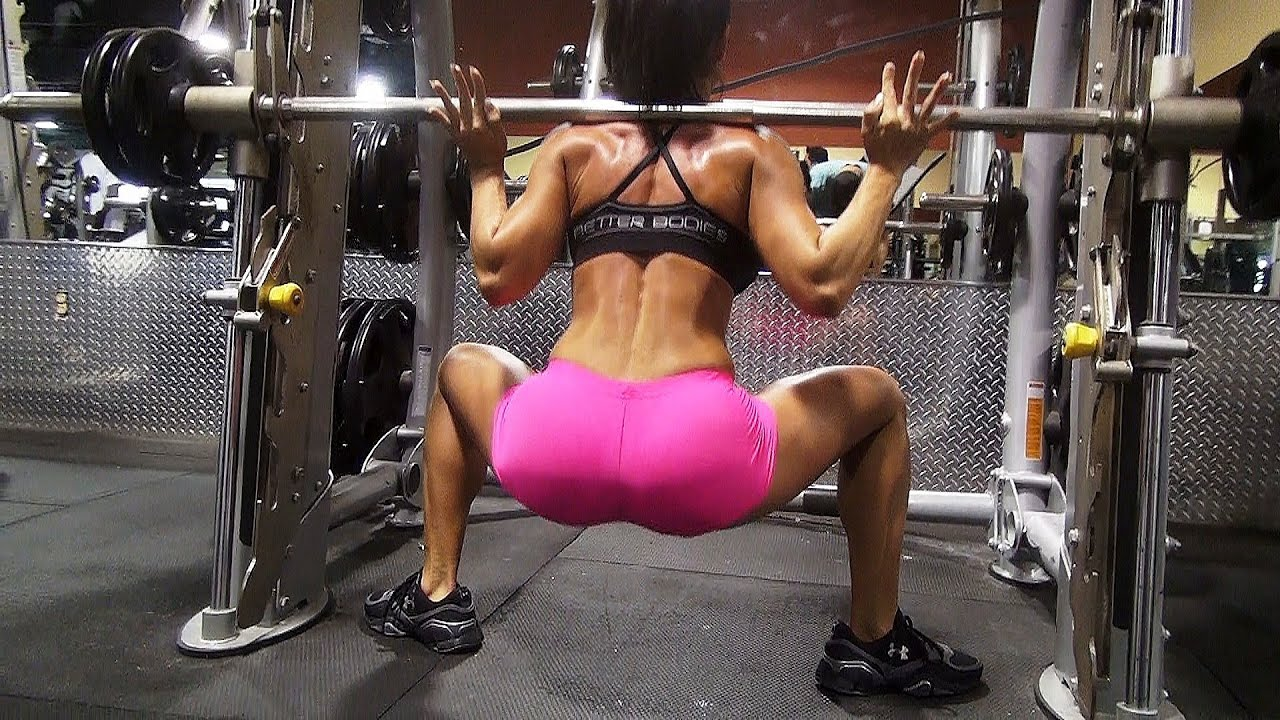women's big butt building workout in the gym!! part 1 - youtube