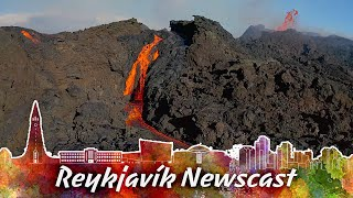 RVK Newscast #97: How Volcanos Affect Global Warming, Lavafall & New Dead Fissures