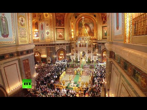 Orthodox Christians celebrate Christmas