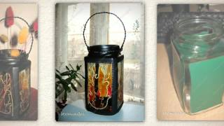 Как сделать фонарь своими руками. Необычная идея(Как сделать фонарь. Вот такая занятная вещица получилась у меня из простой баночки из-под кофе. http://peta4ok.3dn.ru/n..., 2014-07-25T04:23:25.000Z)