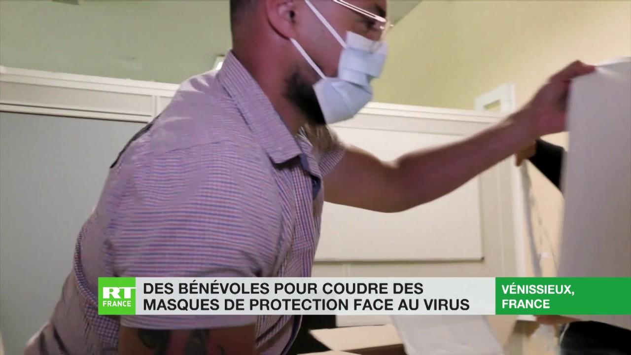 A Vénissieux la mairie lance un réseau de couture solidaire pour faire face à la pénurie de masques